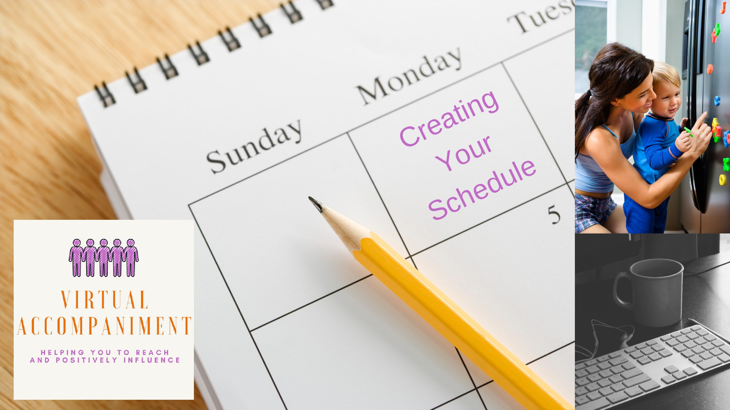 Creating Your Schedule as a Working Mom